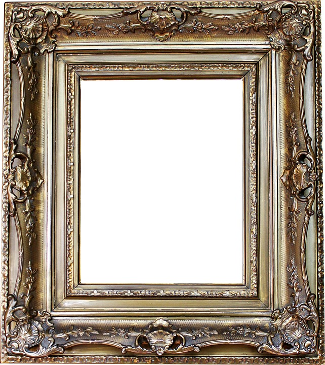 Using Artistic Picture Frames To Emphasis The Picture