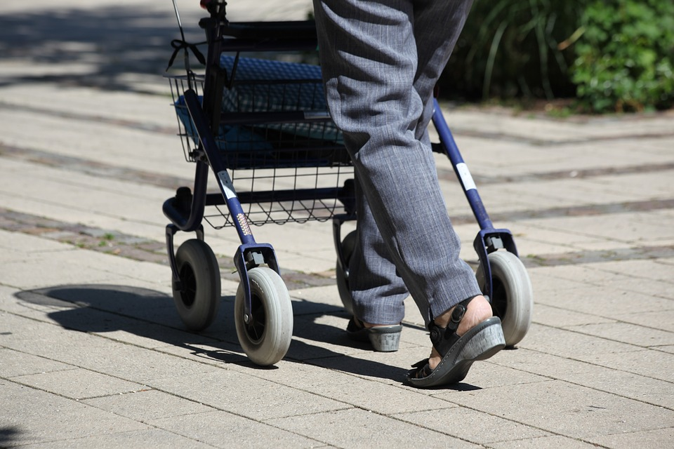 Types And Benefits Of A 4 Wheel Walker