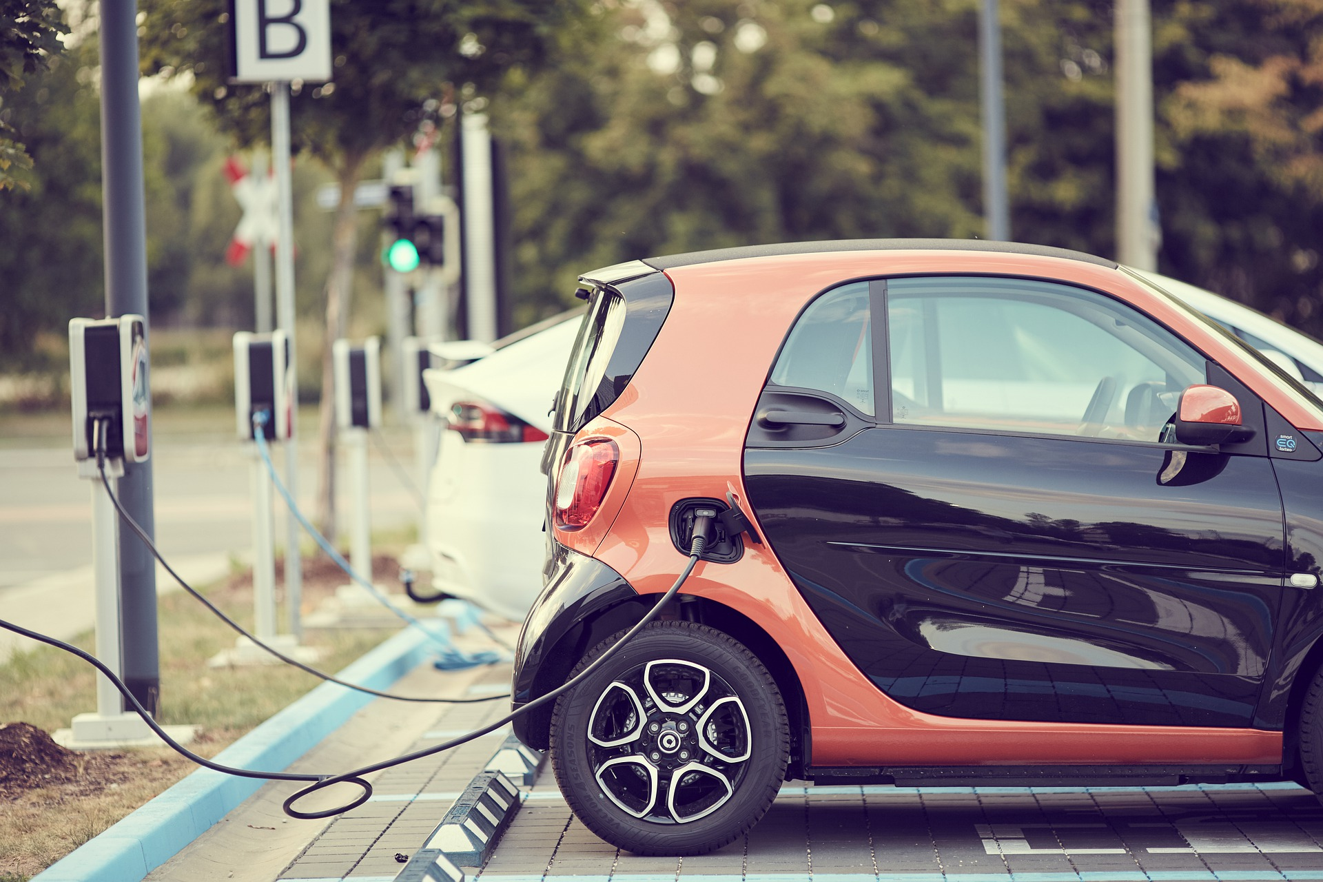 Installing The Electric Car Stations