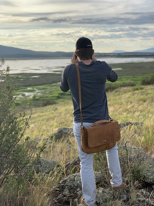 Durable Leather Bags For Men