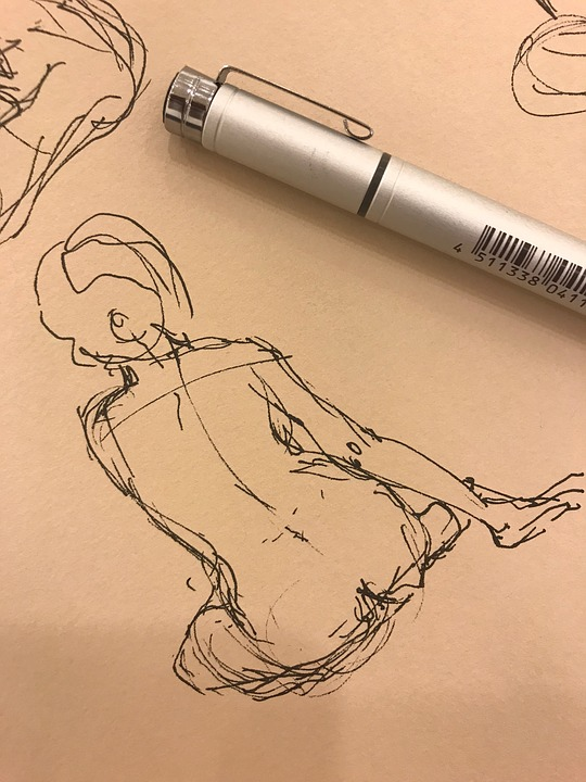 Working As A Life Drawing Model