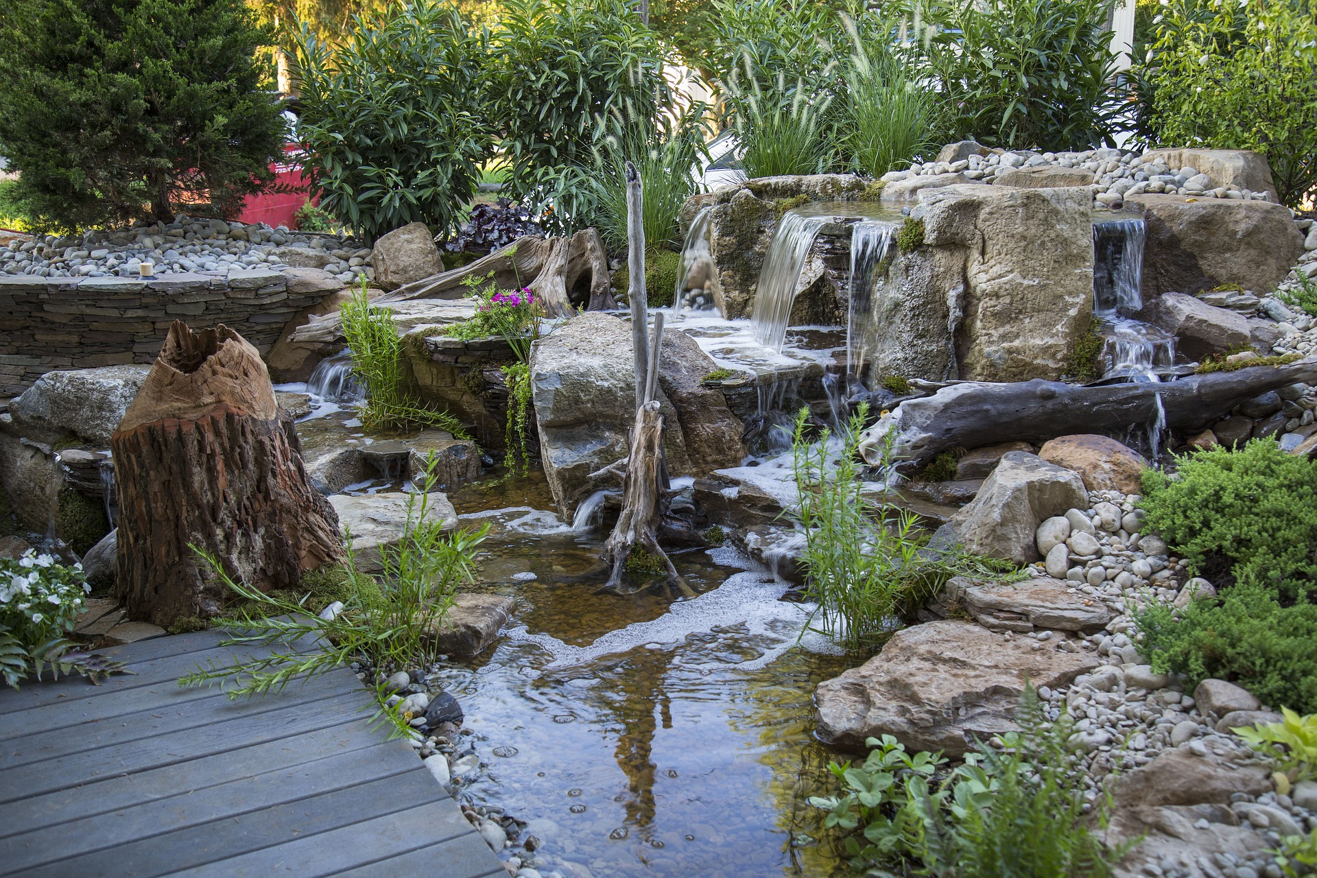 Backyard Waterfalls: Experiencing The Relaxation Of Nature